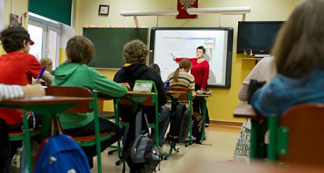 Miljöpartiet vill ge mer pengar till lärarna. Foto: Katarzyna Korza/TT