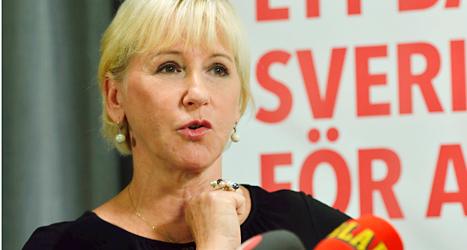 Socialdemokraten Margot Wallström. Foto: Henrik Montgomery/TT