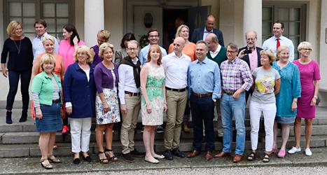 Regeringen har haft möte på Harpsund. Foto: Claudio Bresciani/TT.