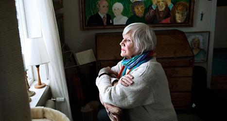 Författaren Birgitta Stenberg. Foto: Dan Hansson/TT.