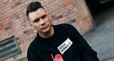 Anders Westgerd är ledare för det nya partiet. Foto: Normaldemokraterna