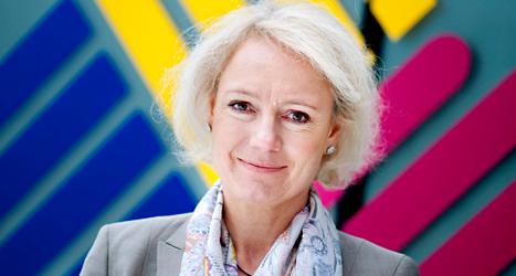 Sidas chef Charlotte Petri Gornitzka har fått dubbla löner. Foto: Pontus Lundahl/TT
