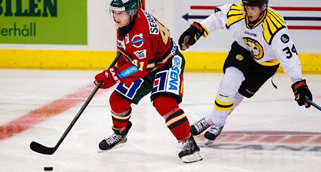 Frölunda fick en fin start när hockeyligan SHL körde igång. Foto: Per Fiske/TT.