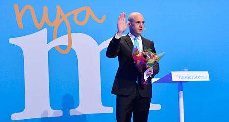 Fredrik Reinfeldt slutar som statsminister och partiledare för Moderaterna. Foto: TT