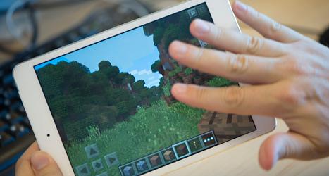 Dataspelet Minecraft är väldigt omtyckt. Foto: Fredrik Sandberg/TT.