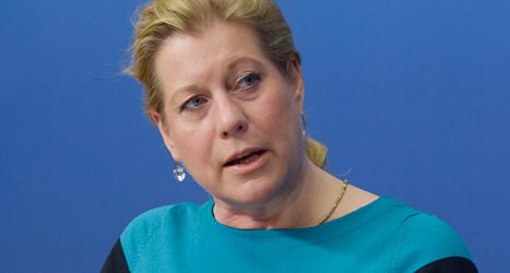 Catharina Elmsäter-Svärd kan bli ny ledare för Moderaterna.Foto: Bertil Ericson/TT.
