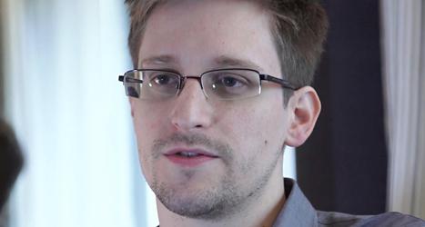 Edward Snowden får Leva Rätt-priset. Foto: TT
