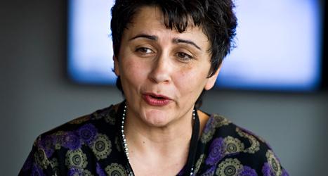 Miljöpartiet vill att Esabelle Dingizian ska bli en av riksdagens fyra talmän. Foto: TT