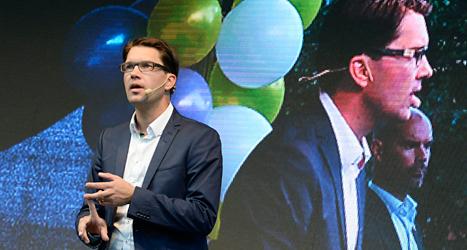 ask Blir Jimmie Åkessons Sverigedemokraterna tredje största parti? Det är en stor förändring i Sveriges politik. Foto: TT
