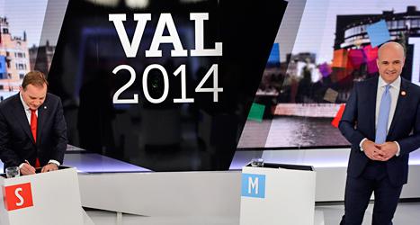 Blir Stefan Löfven eller Fredrik Reinfeldt statsminister efter valet? På söndag får vi svaret. Foto: TT