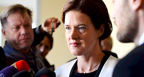 Fredrik Reinfeldt ska sluta som Moderaternas ledare. I stället är det politikern Anna Kinberg Batra som pratar för partiet. Foto: TT