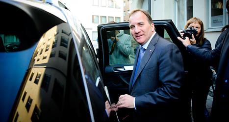 På måndagen sade Socialdemokraternas ledare Stefan Löfven att han vill bilda regering. Foto: TT