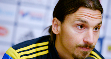 Snart kommer en film om Zlatans liv som fotbollsspelare. Foto: TT