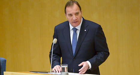 Stefan Löfven är Sveriges nya statsminister. Foto: Janerik Henriksson/TT.