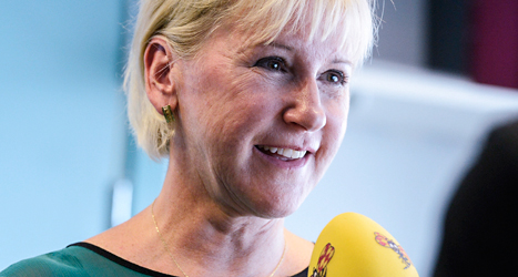 Margot Wallström blir Sveriges nya utrikesminister. Foto: Claudio Bresciani/TT.