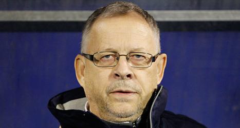 Lars Lagerbäck är tränare för Islands landslag i fotboll. Foto: Darko Bandic/TT.