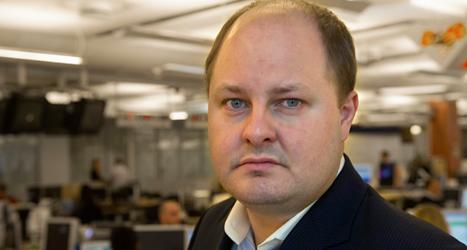 Expressens chefredaktör Thomas Mattsson. Foto: TT