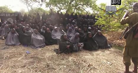 Boko Haram har rövat bort många kvinnor. Foto: AP/TT.