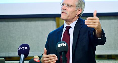 Stefan Ingves är chef för Sveriges Riksbank. Foto: Fanni Olin Dahl/TT.