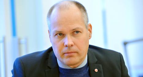 Justitieminister Morgan Johansson. Foto: TT