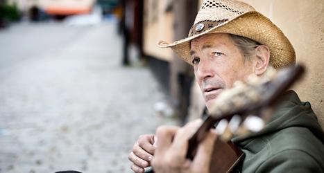 Doug Seegers kommer till Sverige nästa år. Foto: Pontus Lundahl/TT.