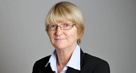 Marietta de Pourbaix-Lundin vill att länderna i Europa ska göra mer för att stoppa nazisterna. Foto: TT