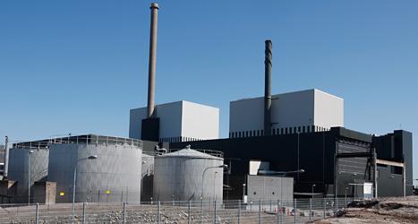 Kärnkraftsverket i Oskarshamn. Foto: TT