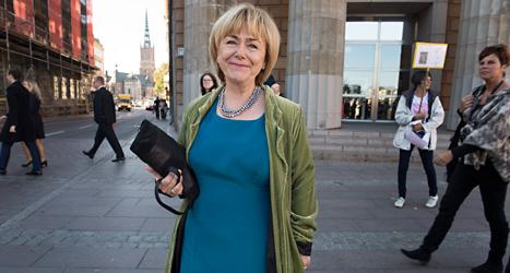 Förut var Beatrice Ask minister i regeringen. Nu blir hon ledare för ett av riksdagens utskott. Foto: TT