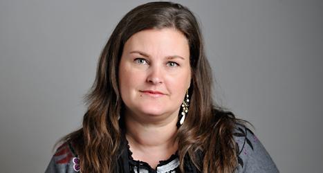 Mikaela Valtersson var förut en av Miljöpartiets viktigaste politiker. Nu är hon arg på partiets förslag. Foto: TT