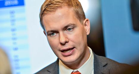 Utbildningsminister Gustav Fridolin. Foto: TT