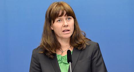 Miljöpartiets ledare Åsa Romson har ändrat sig om hjälpen till fattiga länder. Foto: TT