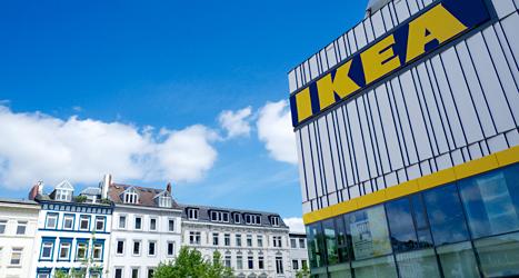 Det svenska företaget Ikea fick hjälp att slippa betala skatt. Foto: Carl Undhen/TT.