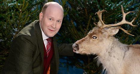 Henrik Dorsin ska tända ljuset i SVT på julafton. Foto: Claudio Bresciani/TT.