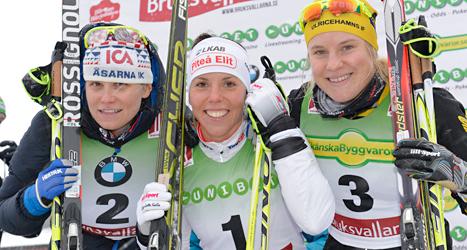 Ida Ingemarsdotter, Charlotta Kalla och Hanna Falk