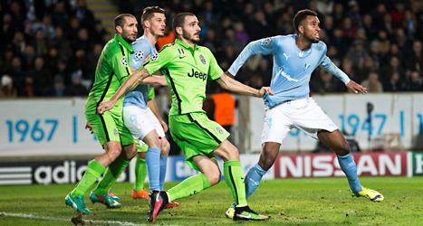 Malmö FF förlorade mot Juventus från Italien.