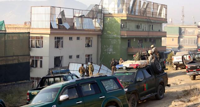 Gata i Kabul där bomber sprängts