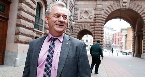 Sven-Erik Bucht är ny landsbygdsminister i regeringen. Foto: TT