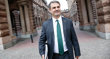Socialdemokraten Ibrahim Baylan är energiminister. Foto: TT