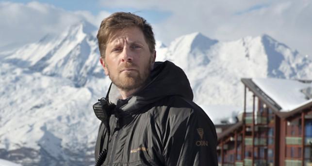 Regissören Ruben Östlund har gjort filmen Turist.