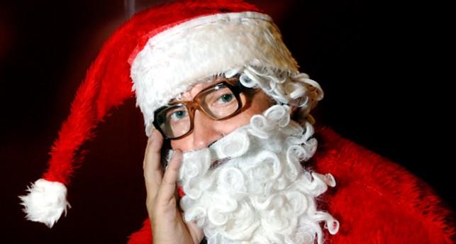 En jultomte.