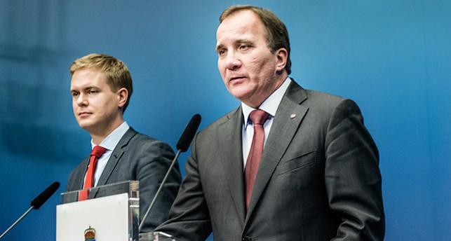 Gustav Fridolin, Miljöpartiet och Stean Löfven, Socialdemokraterna