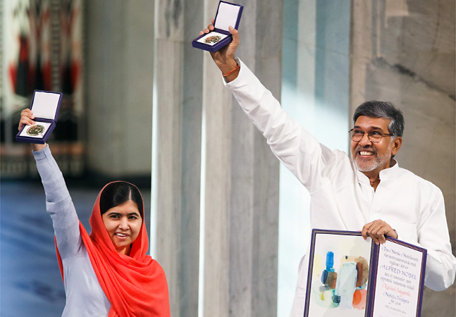 TOPP APTOPIX Norway Nobel Peace Prize