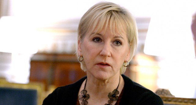 Margot Wallström, utrikesministe
