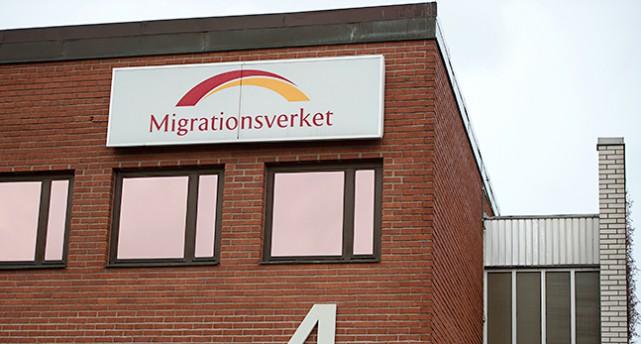 Migrationsverkets kontor i Märsta.