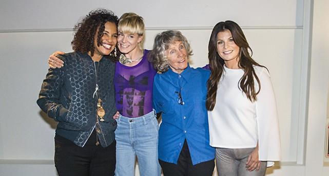 Neneh Cherry, Robyn, Gullan Bornemark och Carola Häggkvist