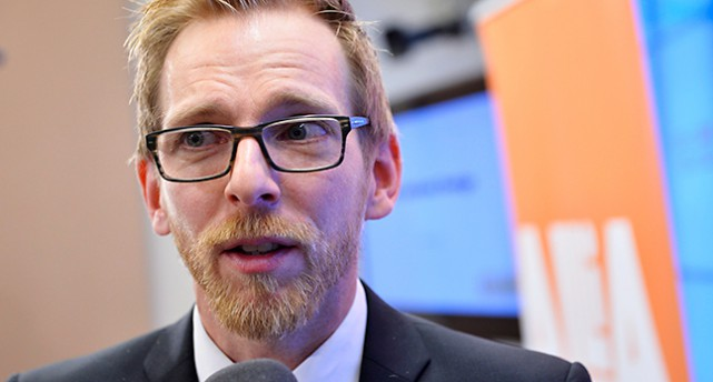 Politikern Jakob Forssmed, Kristdemokraterna.