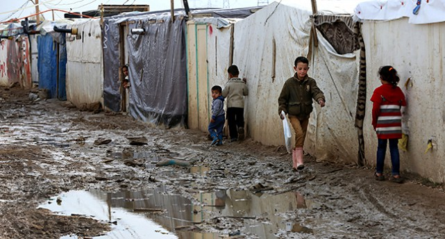 Barn i Syrien