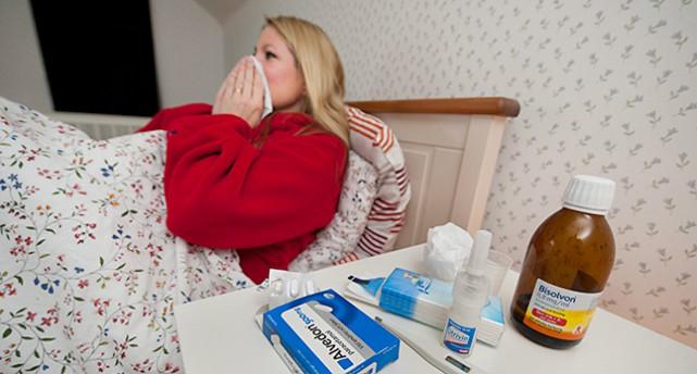 Många är sjuka i influensa