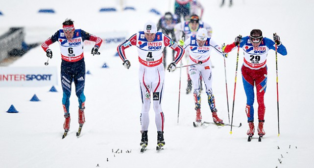 Petter Northug vinner.