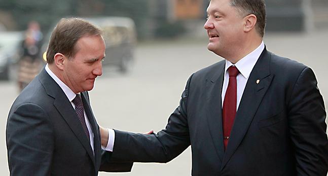 Petro Poroshenko,Stefan Lofven